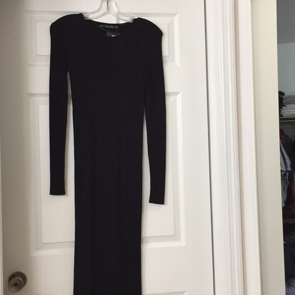 3ef9fab3 Zara Dresses   Knit Maxi Holiday Bodycon   Poshmark